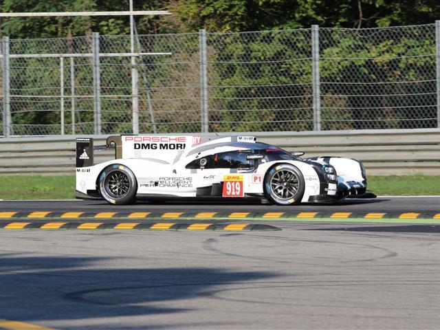 Porsche 919 Hybrid LMP1 testata a Monza