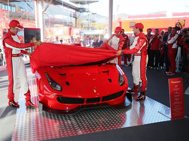Svelate le nuove Ferrari 488 GTE e 488 GT3