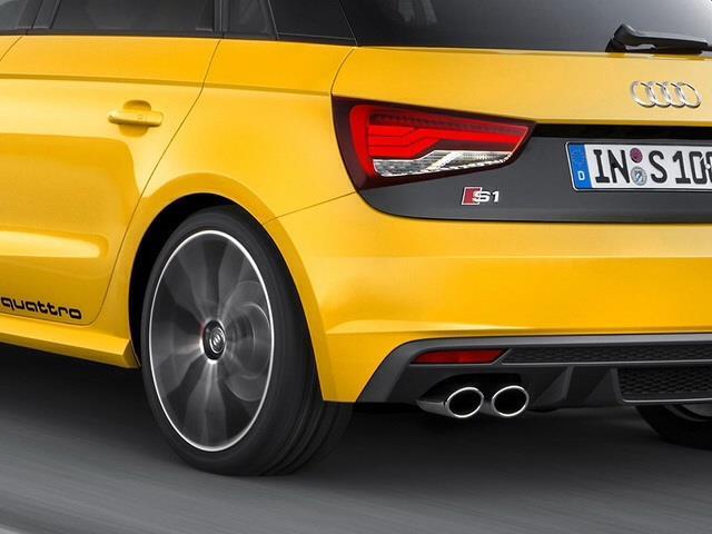 Audi S1 Quattro mostra i muscoli