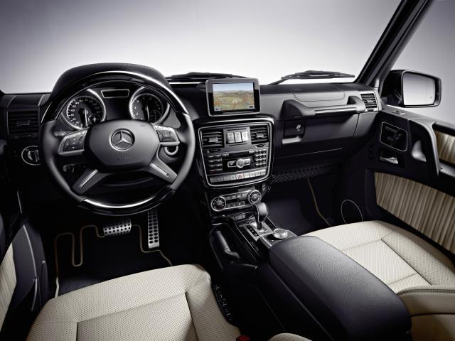 Mercedes Classe G: una vera 4x4