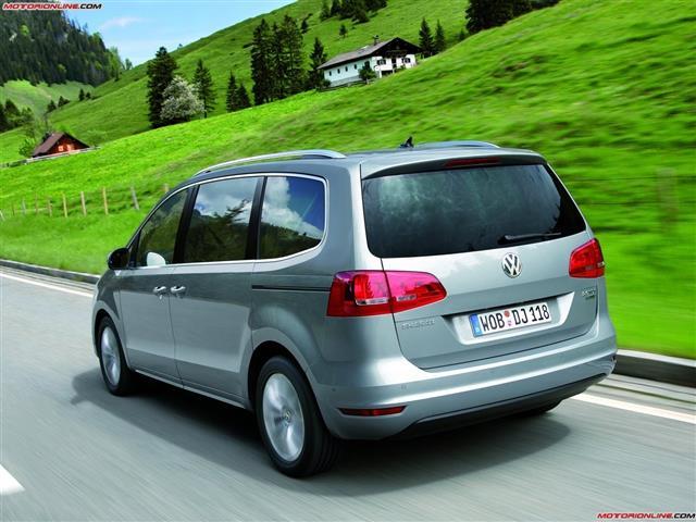 Volkswagen Sharan: classicamente tedesca