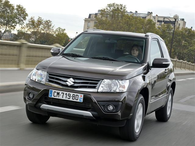 Suzuki Grand Vitara si conferma off road