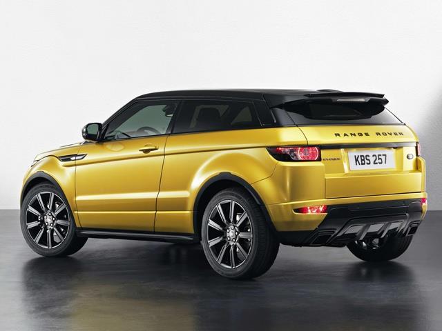Range Rover Evoque Launch Edition 2014