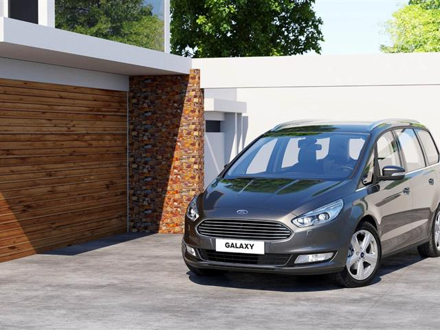 Ford Galaxy 2015: un intenso restyling