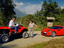 Top Gear: Alfa Romeo 4C vs Quadski