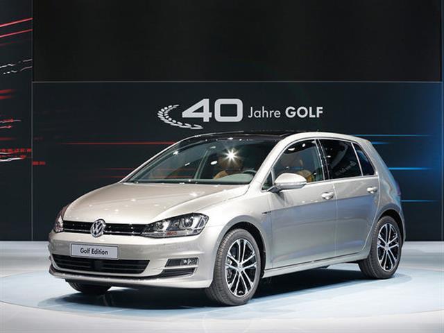 VW Golf Edition e Golf GTI Wolfsburg Edition