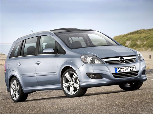 Opel Zafira: versione One o Tourer?