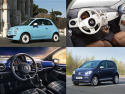 Volkswagen Club Up vs Fiat 500 Vintage