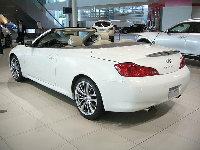 Infiniti G: berlina, coupé o cabriolet?
