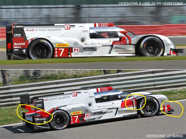 Audi R18 e-tron quattro LMP1 testata a Monza