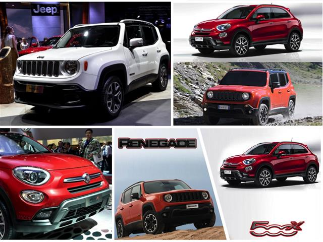 Jeep Renegade vs Fiat 500X: sorelle a confronto