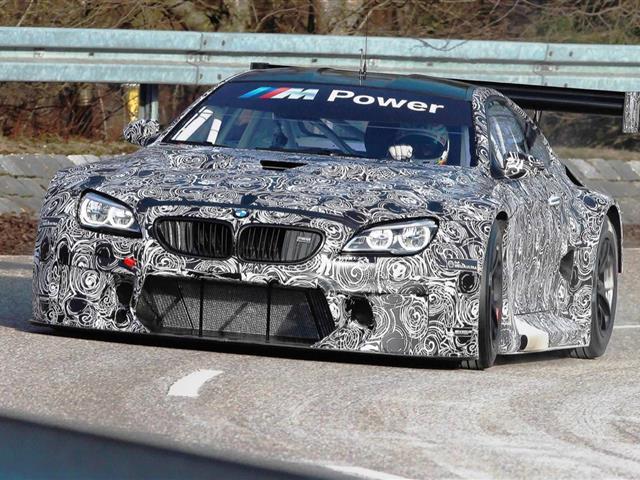 BMW M6 GT3 svelata sul circuito del Nurburgring