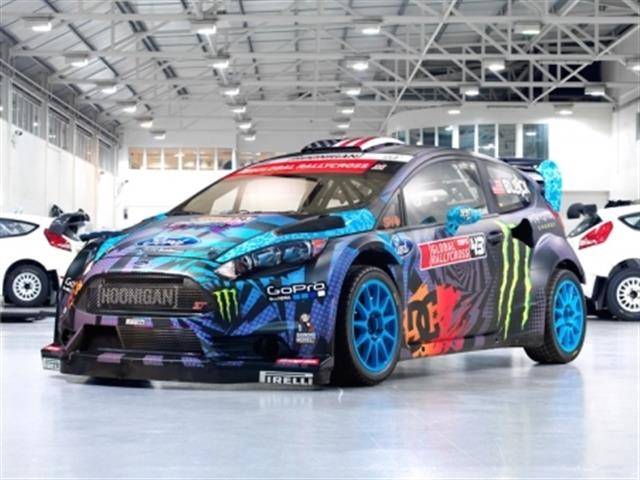 ford fiesta st rx43 la vettura di ken block. Black Bedroom Furniture Sets. Home Design Ideas