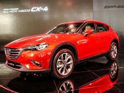 MAZDA CX-4: IL NUOVO SUV DEDICATO AI PAESI ASIATICI