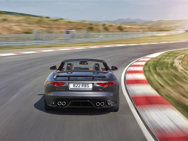 JAGUAR F-TYPE SVR: COUPE' E CONVERTIBLE