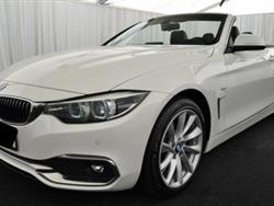 BMW SERIE 4 d aut. Cabrio* Luxury*LED*NaviProf*Telecamera*