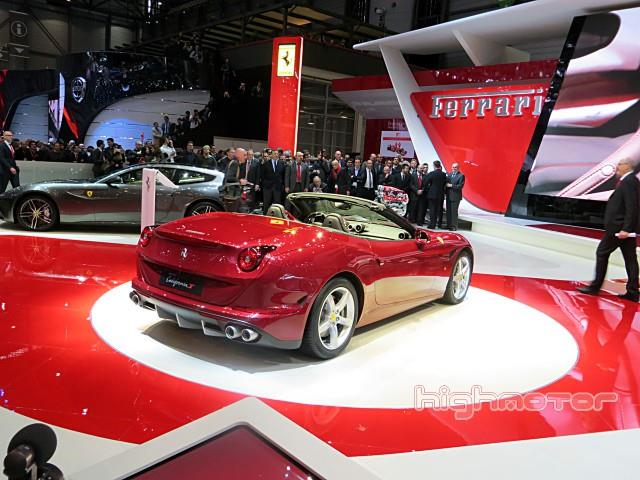 Ferrari California T fonde presente e passato