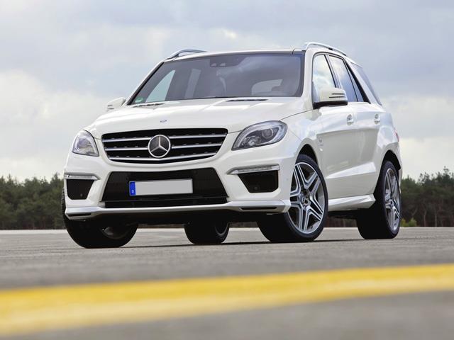 Nuova Mercedes Classe ML: carattere deciso